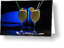 Pisco Sour In Puno Greeting Card
