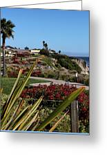 Pismo Beach Landscape Greeting Card