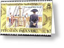 Pitcairn Island Stamp Greeting Card