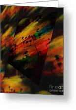 Pitch Space 5 Greeting Card