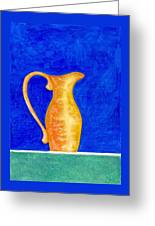 Pitcher 2 Greeting Card