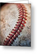 Pitchers Stitches Greeting Card