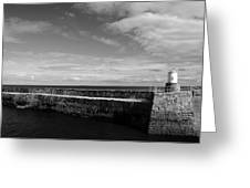 Pitenweem Harbour Wall Greeting Card