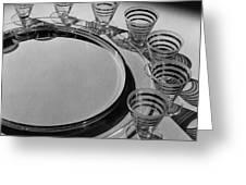 Pitt Petri Tableware Greeting Card