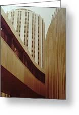Pitt Towers Greeting Card