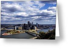 Pittsburgh After The Storm Greeting Card
