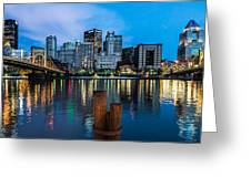 Pittsburgh Blue Hour Greeting Card
