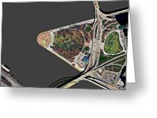 Pittsburgh Golden Triangle 1 Greeting Card