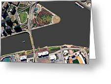 Pittsburgh Golden Triangle 2 Greeting Card