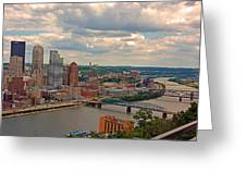 Pittsburgh Pa Greeting Card