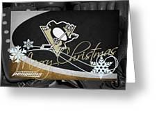 Pittsburgh Penguins Christmas Greeting Card