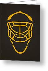 Pittsburgh Penguins Goalie Mask Greeting Card