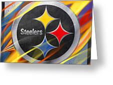 Pittsburgh Steelers Football Greeting Card