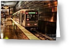 Pittsburgh Subway Greeting Card