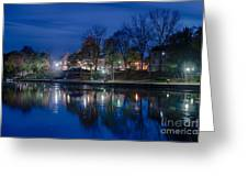 Pittsford On The Erie Canal Greeting Card