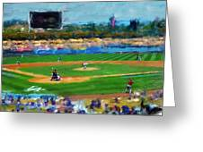 Pivotal Moment Greeting Card by Cary Shapiro