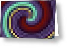 Pixel 1 Greeting Card