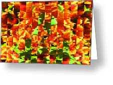 Pixilated 2 Greeting Card