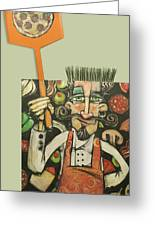 Pizza Chef Quickfire Greeting Card