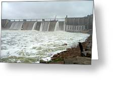 Pk Dam Greeting Card