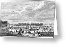 Place Louis Xv, 1763 Greeting Card