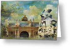 Place Stanislas Place De La Carriere And Place Dalliance In Nancy Greeting Card