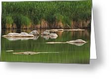 Llano River 2am-106459 Greeting Card