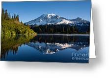 Placid Reflection Greeting Card