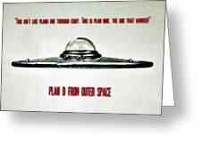 Plan 9 Seinfeld Greeting Card