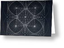 Plancks Blackhole Greeting Card