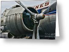 Plane Check Your Engine Greeting Card