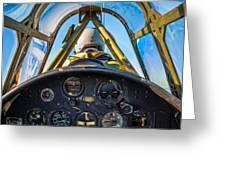 Plane Ride Greeting Card