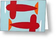Planes  Greeting Card