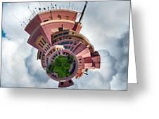 Planet Tripler Greeting Card