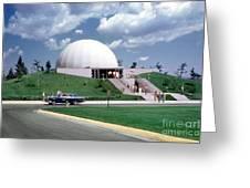 U.s. Air Force Academy Planetarium At Colorado Springs 1961 Greeting Card