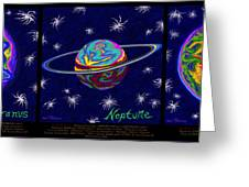 Planets 7 8 9 - Science Greeting Card