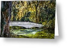 Plantation Bridge Greeting Card