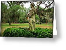 Plantation Garden New Orleans  Greeting Card