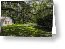 Plantation Grounds Greeting Card