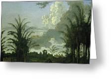 Plantation In Suriname, Dirk Valkenburg Greeting Card
