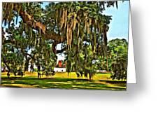 Plantation Oil Greeting Card