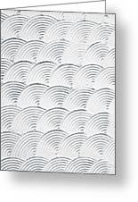 Plaster Pattern Greeting Card