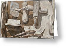 Plasterer's Tools 2 Greeting Card