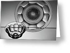 Plate And Bowl Greeting Card