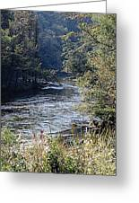 Plate River No 2 Greeting Card