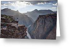 Plateau Point - Grand Canyon Greeting Card