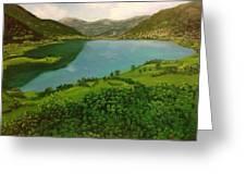 Plav Montenegro  Greeting Card