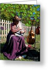 Play A Song For Me Greeting Card