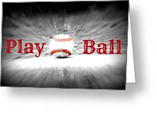 Play Ball 2 Greeting Card