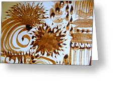 Play Brush And Ink Greeting Card